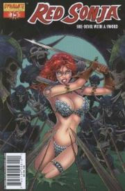 Red Sonja #15 Balent Variant Cover Dynamite Entertainment comic book